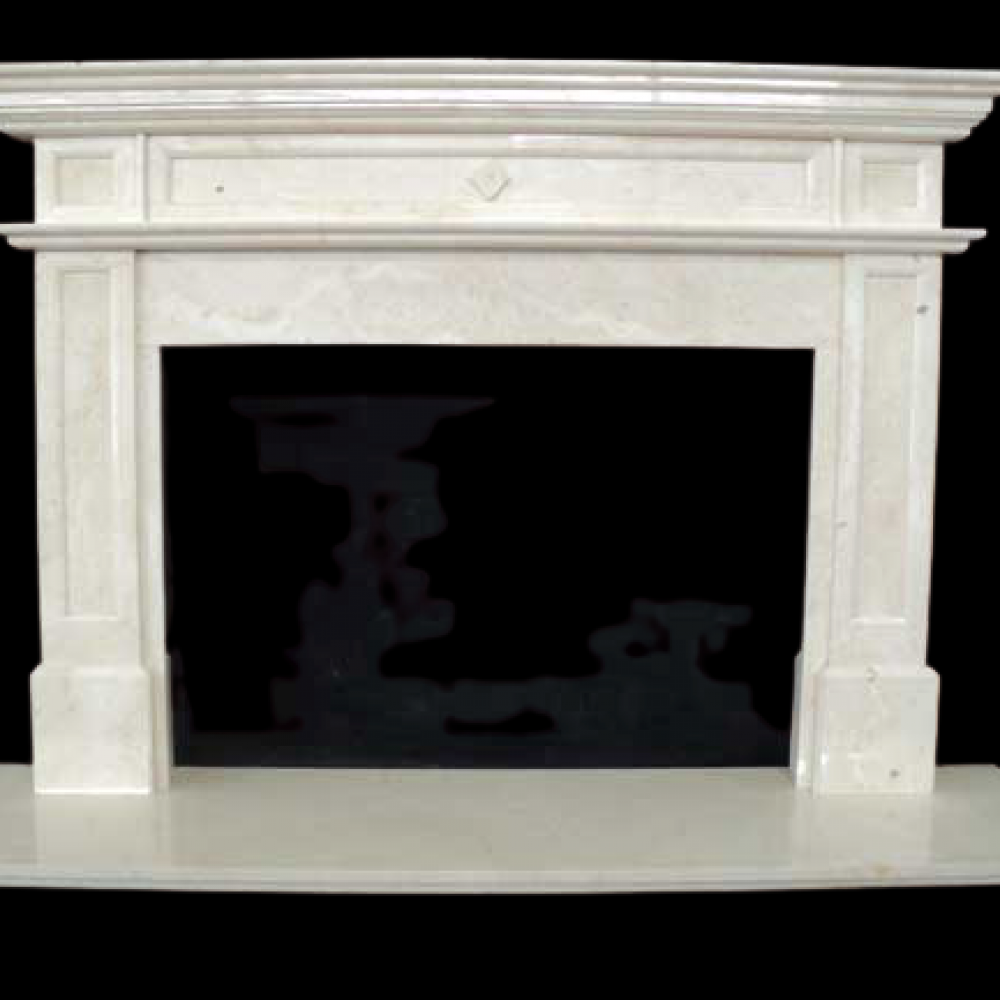 Marble Fireplace 1